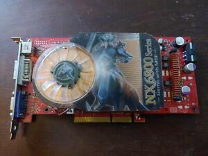 MSI Nvidia GeForce NX 6800GT Graphics Card (256 MB RAM) (NX8600GT-TD256)