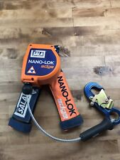 3M DBI-SALA Nano-Lok Edge 3500215 Leading Edge Self Retracting Lifeline, 8 Ft