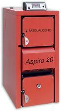 Pasqualicchio Aspiro 20 Caldaia a combustibile solido LEGNA CARBONE PELLET Ecc