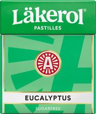 Läkerol ( Lakerol ) Eucalyptus Sugar Free 25g 0.85 oz