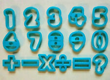 Numbers Cookie Cutter Fondant Stainlees Steel Biscuit Baking Mold Set