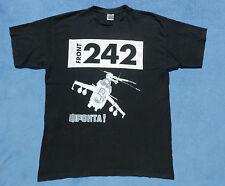 FRONT 242 T-Shirt Größe XXL EBM FRONTA! Hubschrauber Helicopter Nitzer Ebb RAR