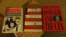 JFK L Fletcher Prouty CROSSFIRE Jim Marrs OSWALD & CIA John Newman ASSASSINATION