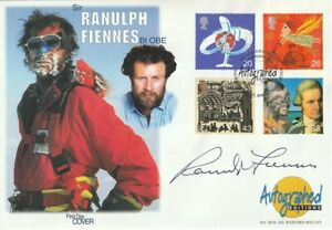4 JUNE 1999 TRAVELLERS TALE COVER SIGNED RANULPH FIENNES COVER SHS