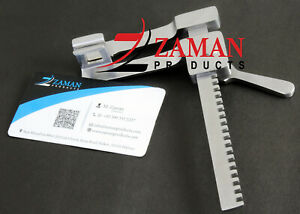 Baby Finochietto Rib Spreader Stainless Steel By Zaman Products