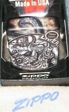 ZIPPO 540 DESIGN Lighter PIRATE COIN 49434 Mint in Box NEW Made in USA Liberty