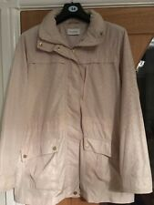 SPLENDIDA giacca donna! Crema/cappotto, M&S, Taglia 12. AFFARE