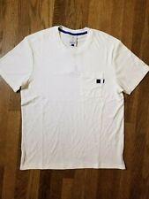 Nike Roger Federer RF Tennis Shirt White/Blue Men's Size XX-Large AH6764-100 $60