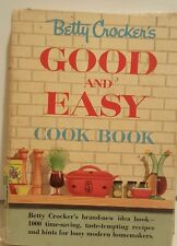 Betty Crocker's Good and Easy Cook Book  1954