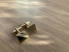 Cufflinks Art Deco 1940s Ww2 Style Cuff links Vintage Style Gold Coloured