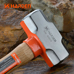 HARDEN 3lb Sledge Hammer With Wood Handle