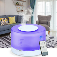 Air Purifier Cleaner Humidifier Freshener Ioniser 7 Colour Changing LED Light UK
