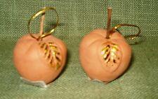 19 Terracotta-Äpfel als Baumschmuck/ Floristik, 3,5 x 4 cm, NEU