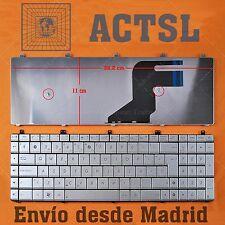 Teclado Español para ASUS N75S Plata
