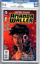 Suicide Squad: Amanda Waller   #1   CGC  9.6  NM+  White pages  5/14   Jim Zub