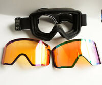 Anon M3 Goggle with Spare Lens Moto Black Frame SONAR Green Zeiss Lens