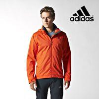 Adidas Mens Wandertag ClimaProof Storm Orange Hiking Jacket Free Tracked Post