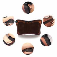 Oreiller de Massage à Rouleaux pour La Chaise de Cou Chauffage Infrarouge 8têtes