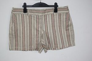 Ann Taylor Gorgeous Printed City Shorts Brand new us 10 uk 14
