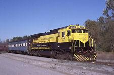 Orig slides NYS&W Susquehanna  4012 Nat'l Special Saratoga Springs NY 1989  BIN