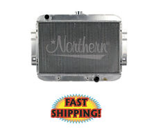 """Northern 205162 - Hot Rod Radiator 25-1/2"""" W X 19-7/8"""" H, ILeft / Out-Right"""
