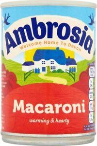 Ambrosia Creamed Macaroni 4 Tins Of 400g