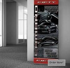 50th Anniversary Camaro BANNER 34 x 85 with RETRACTABLE DISPLAY STAND INCLUDED