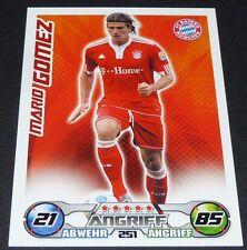 SUPER MARIO GOMEZ BAYERN MÜNCHEN TOPPS PANINI FOOTBALL BUNDESLIGA 2009-2010