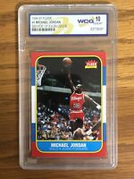 1996-97 MICHAEL JORDAN FLEER DECADE OF EXCELLENCE #4 GEM MINT 10 PSA BGS