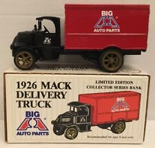 Ertl  Big A Auto Parts  1926 Mack Delivery Truck  Coin Bank # 9094UA  NEW IN BOX