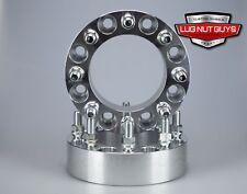 "2 Pc 1.5 Inch 8 Lug Wheel Spacers 8x6.5"" Fits Silverado 2500 HD 3500 HD Duramax"