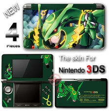 Pokemon Emerald Rayquaza Delta Cool Skin Sticker Cover for Original Nintendo 3DS