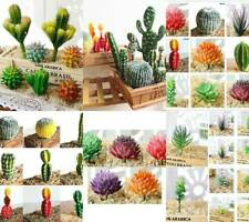 Artificial Succulents Plant Garden Miniature Fake Cactus Home Floral Decor au