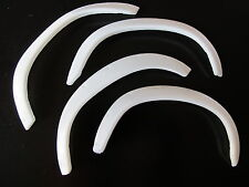 New Tamiya RC 1/10 Toyota Hilux Bruiser Mountaineer white rubber Fender Flare