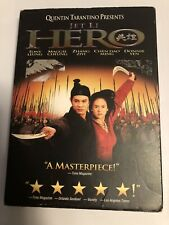 Hero (Dvd, 2004) Jet Li Used Very Good Condition Quentin Tarantino