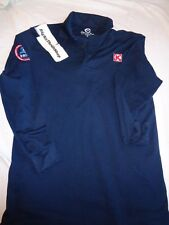 Circle K Blue Employee Uniform Official Collar Shirt ADULT Medium Long Sleeve
