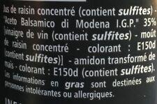 Douceur à base de vinaigre balsamique de Modène 50 cl en cuisine
