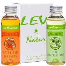 Massageöl für Gesicht Sanddornöl 2-tlg-Set 100ml Naturprodukt für straffere Haut