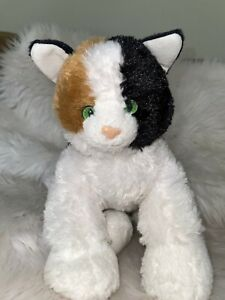Build A Bear Kennel Pals Promise Pets Calico Kitty Cat White Black