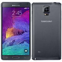 "Libre Telefono Movil 5.7"" Samsung Galaxy Note4 N910A 32GB 4G LTE 16MP GPS -Negro"