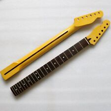 Canadian maple rosewood fingerboard Tele neck 22 light yellow left hand handle
