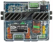 BD250.2 BANDA Two Channel 125 Watts Max @ 2 Ohm Car Audio Amplifier BRAND NEW