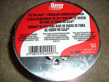 OATEY PVC NO-CALK FIBERGLASS SHOWER DRAIN FITS TO 2'' PIPE STAINLESS STRAINER