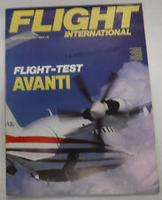 Flight International Magazine Flight Test Avanti July 1988 FAL 071415R2