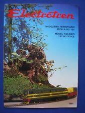 Electrotren  Model Railway Catalogue 1991