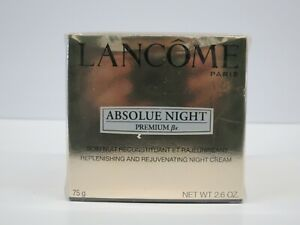 LANCOME ABSOLUE PREMIUM Bx NIGHT CREAM REPLENISHING MOISTURIZER 2.6OZ NEW SEALED