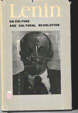 On Culture and Cultural Revolution - HC DJ 1970 USSR - Lenin - Marxism Communism