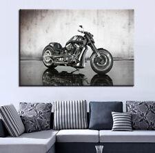 Classic Harley Davidson Motorcycle 1 Piece Canvas Print Wall Art