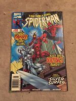 The Amazing Spider-Man #430 1st Cosmic Carnage Newsstand Variant [Marvel, 1998]