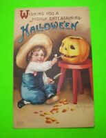 Ellen Clapsaddle Vintage Halloween Post Card Series 1238 Antique Embossed #42